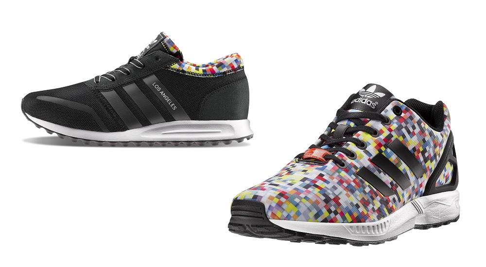 Adidas: Eighties mood
