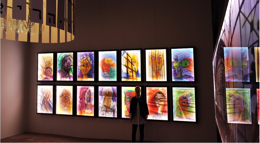 Ariela Wertheimer: Jaffa Venice Light boxes