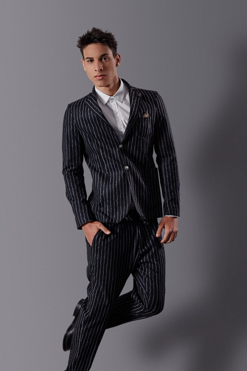 Suit and shirt Ssense, socks Sara Borghi, shoes Antony Morato