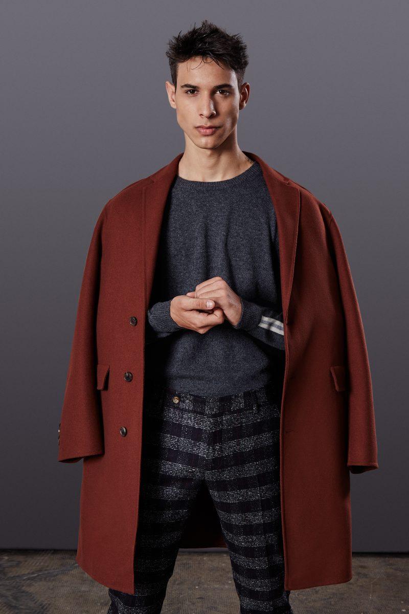 Coat Allegri, sweater Seventy, trousers Entre Amis