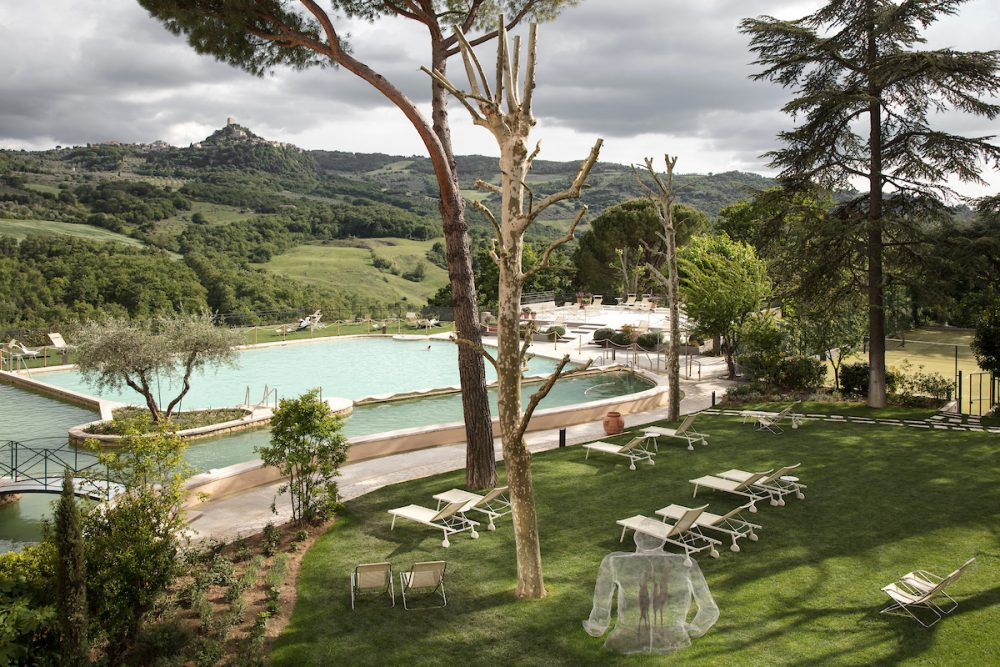 Seeking relax: Alle terme in Val d'Orcia