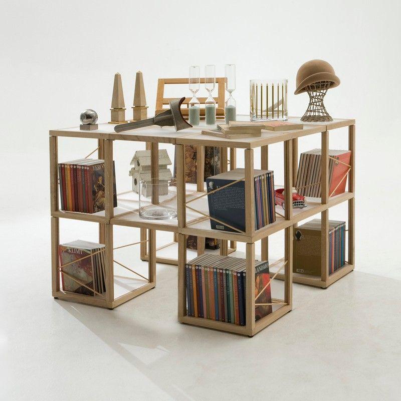 Idee di arredamento per piccoli spazi: letti e librerie