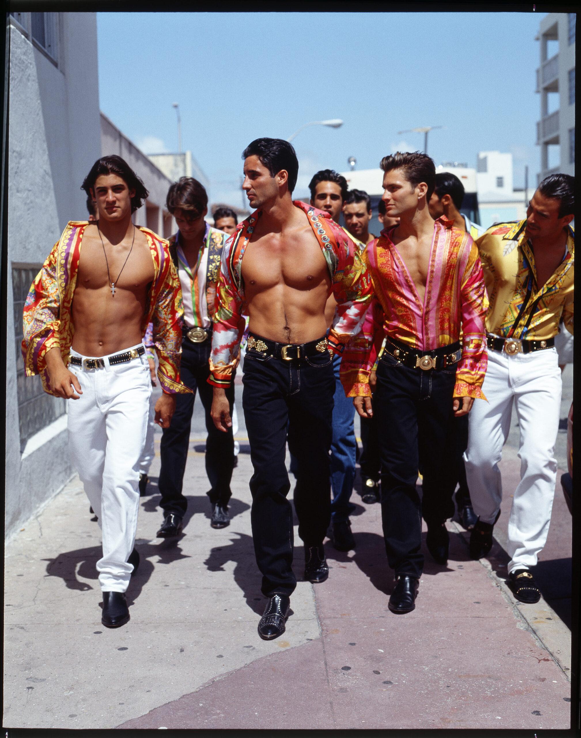 E a Miami Gianni Versace creò l'uomo