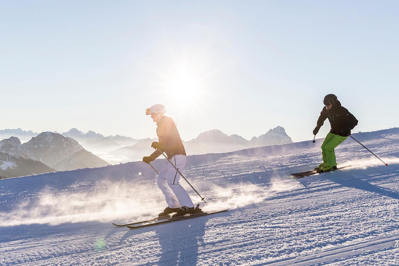 Sciare in inverno: i migliori hotel sulle piste