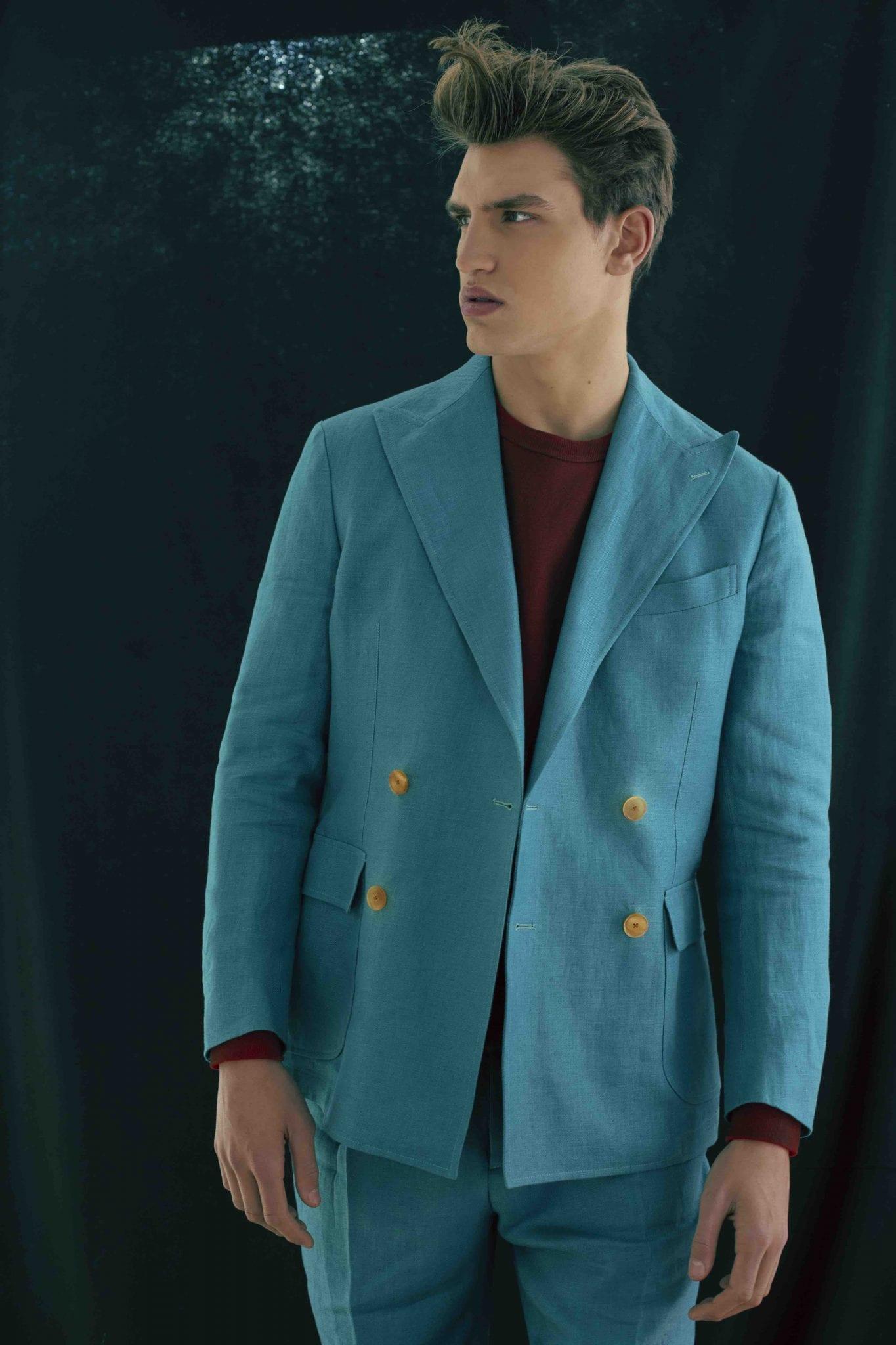 Suit Doppiaa, sweater C.P. Company