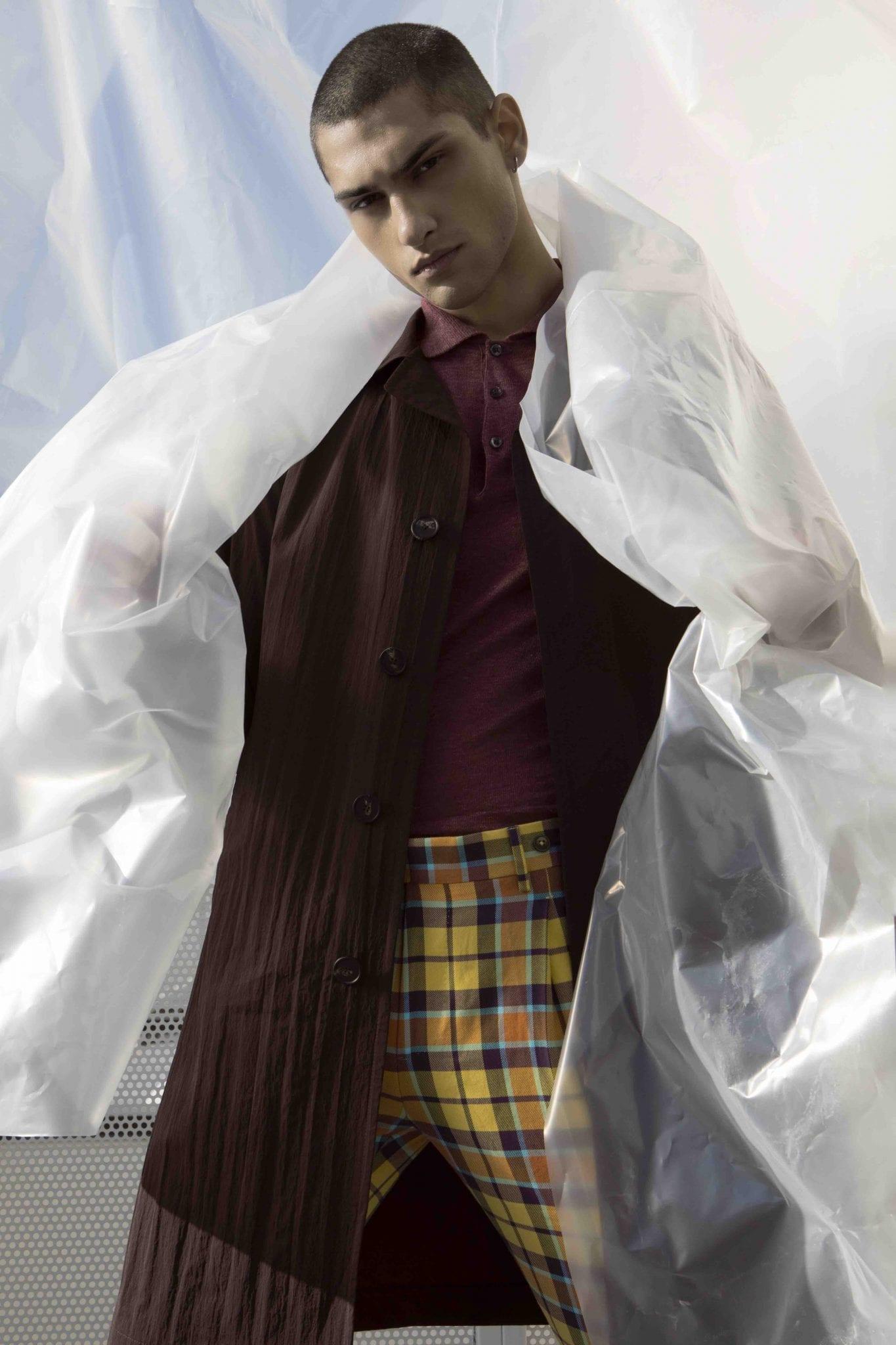 Coat and polo Tagliatore, trousers Berwich