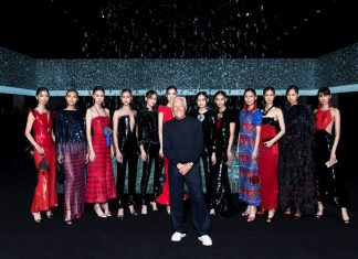 Giorgio Armani Fashion Show Tribute to China