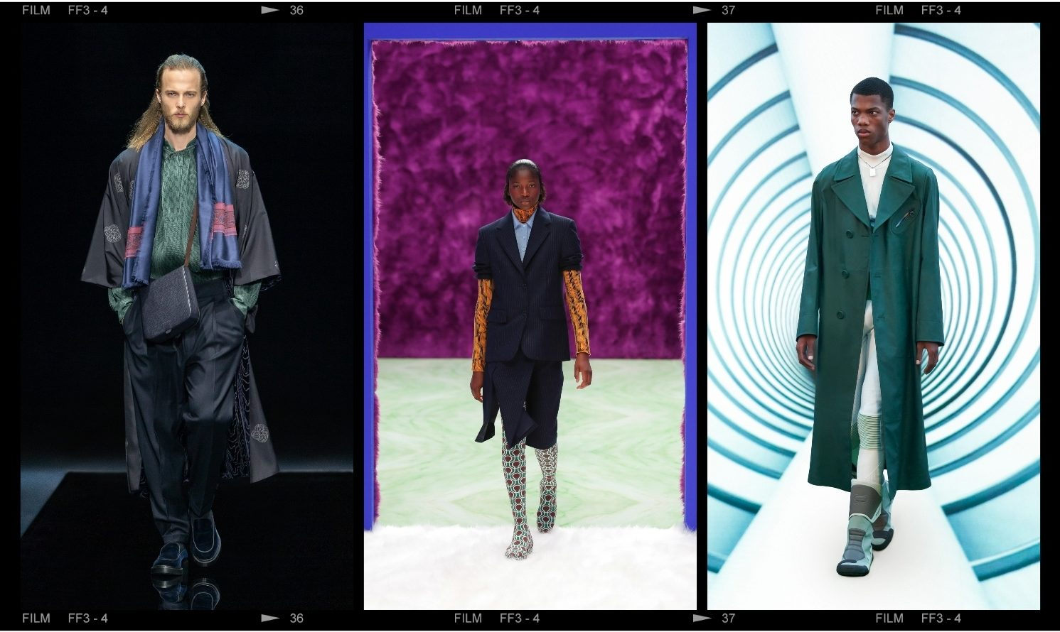 Milan Fashion Week – a recap on a journey through space and time