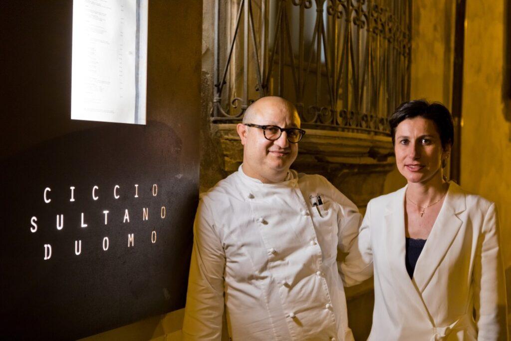 Lo chef Ciccio Sultano, uno degli ambassador dello Champagne Krug