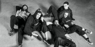 Il team di WAD We Are Dreamers con il fondatore del brand: Luca Tomassini
