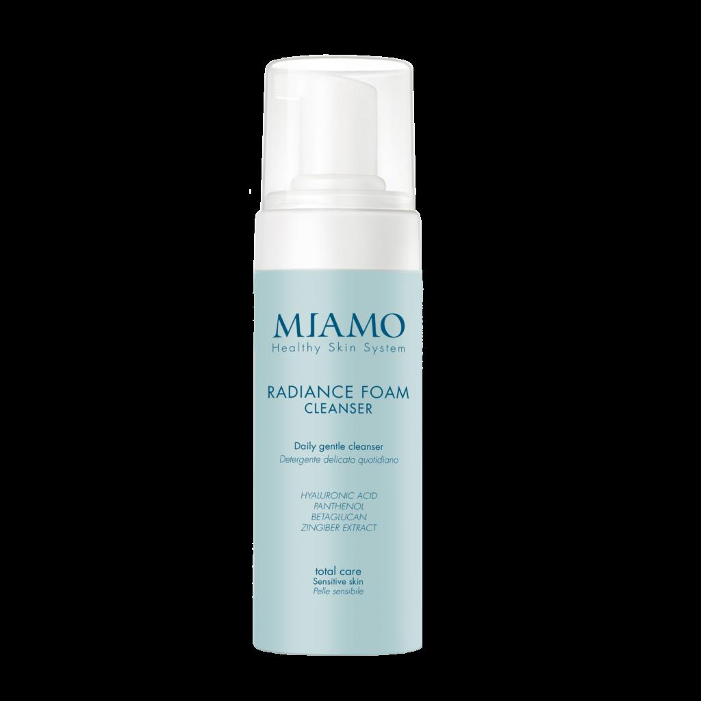 Il detergente viso Miamo: delicato e lenitivo, adatto a ogni tipo di pelle anche dopo una giornata di sole