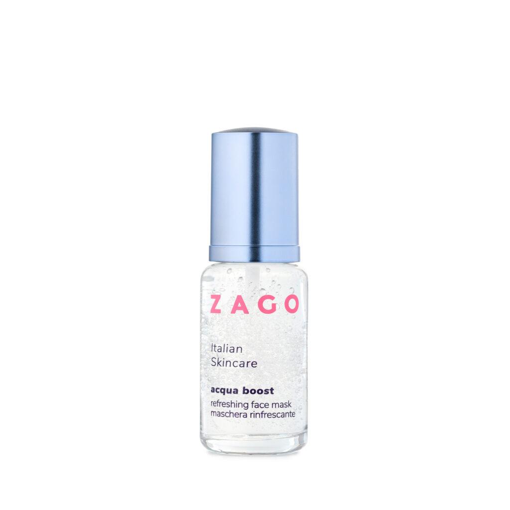 La maschera viso Zago Acqua Boost: per rinfrescare, idratare e lenire la pelle in estate grazie all'aloe vera