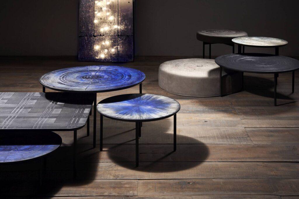 Mos Design: set di tavolini