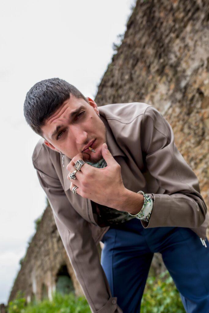L'attore romano Andrea Lattanzi, volto della serie TV Summertime