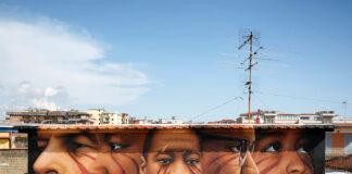 Time to change the world: il murale di Jorit dedicato a George Floyd