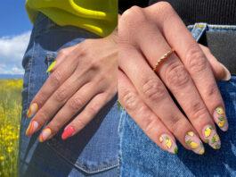 Due manicure con nail art perfette per l'estate 2021!