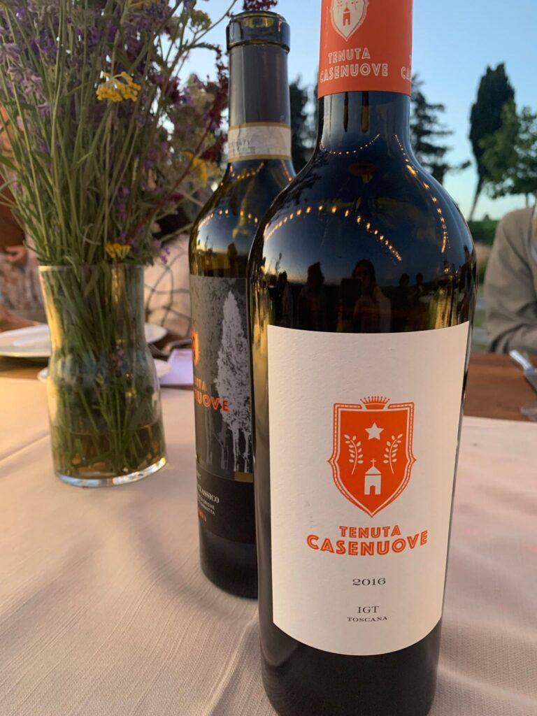 I vini rossi della Tenuta Casenuove: Chianti e IGT Toscana