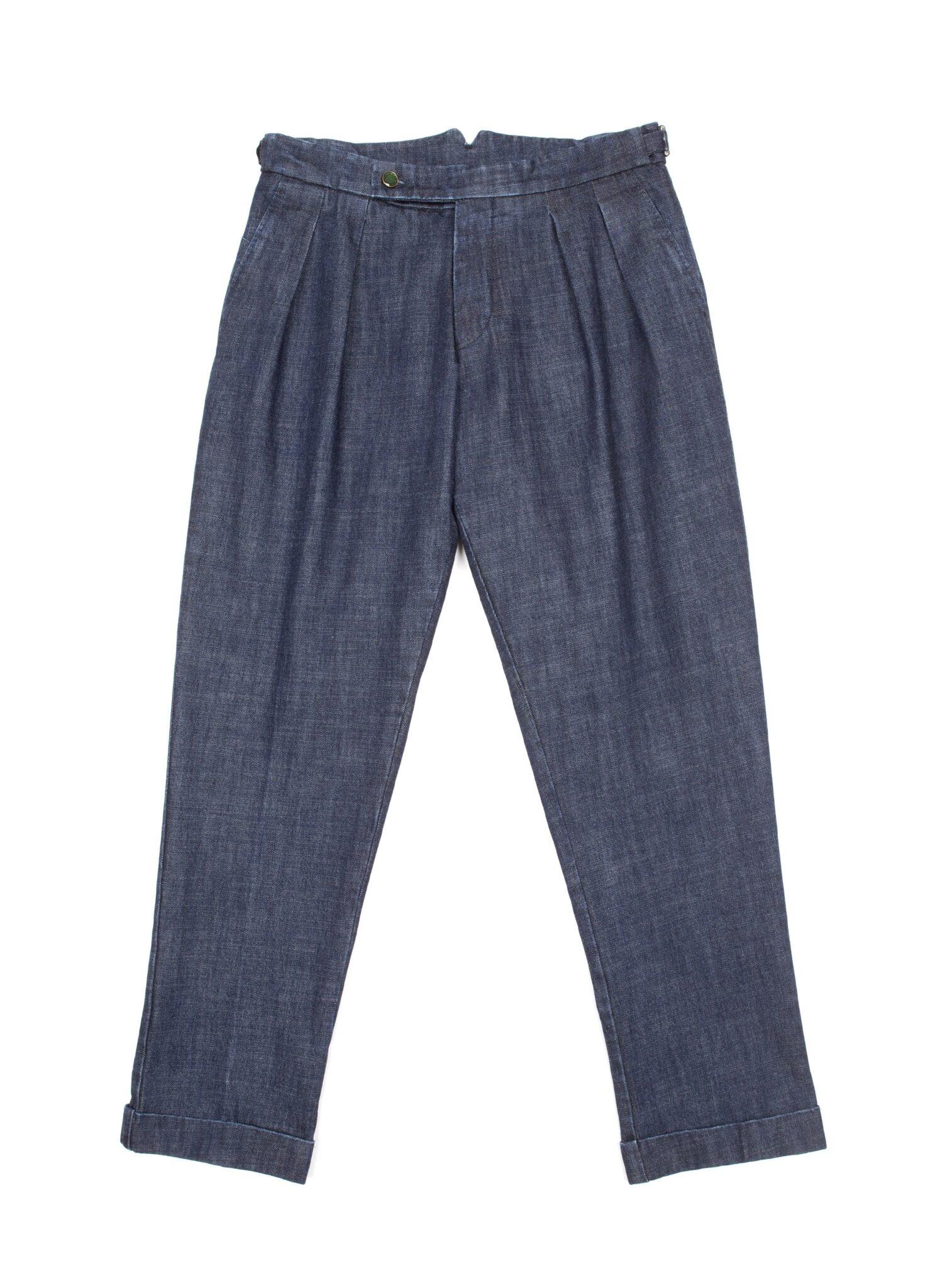Jeans Berwich FW 2021 dal taglio ampio che garantisce comodità e massimo comfort