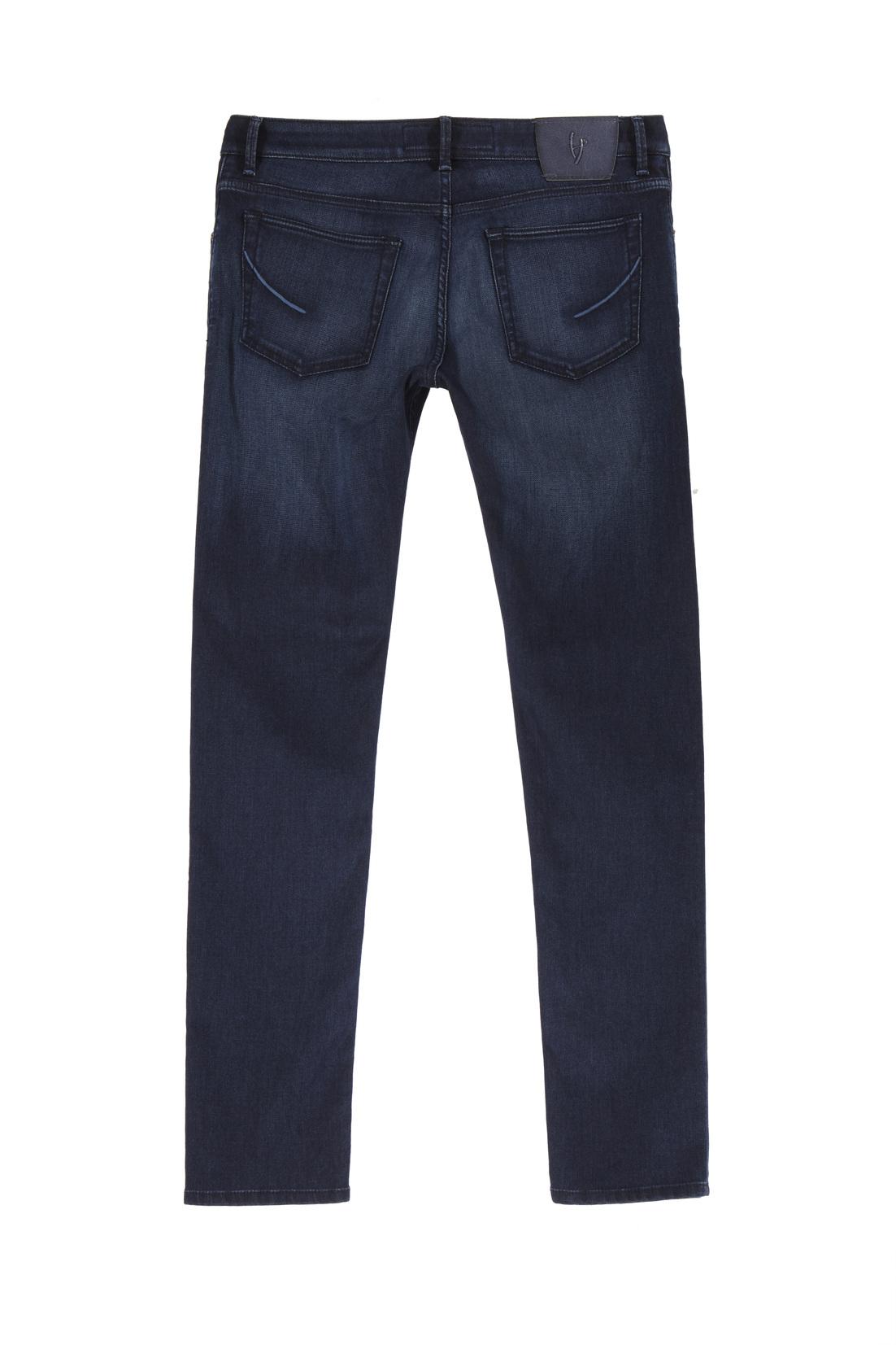 Retro dei jeans Handpicked con particolari cuciture sulle tasche