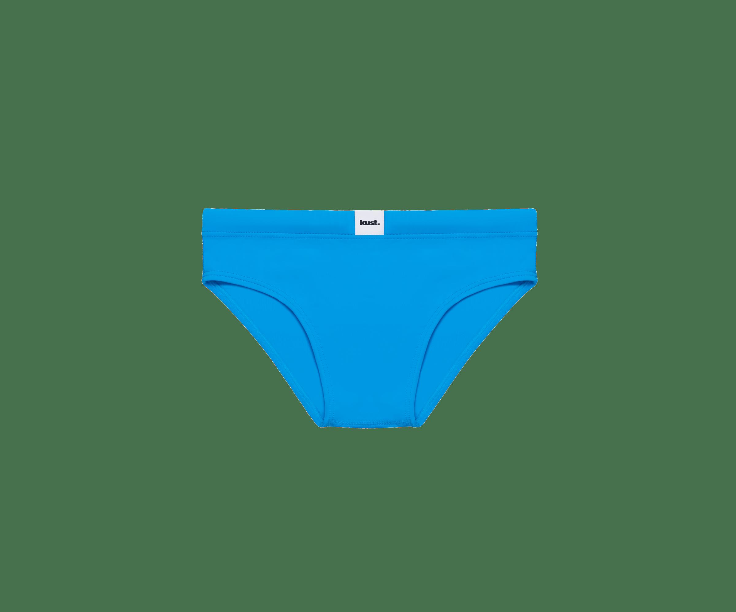 Lo slip azzurro Kust Swim è l'ideale per lunghe nuotate