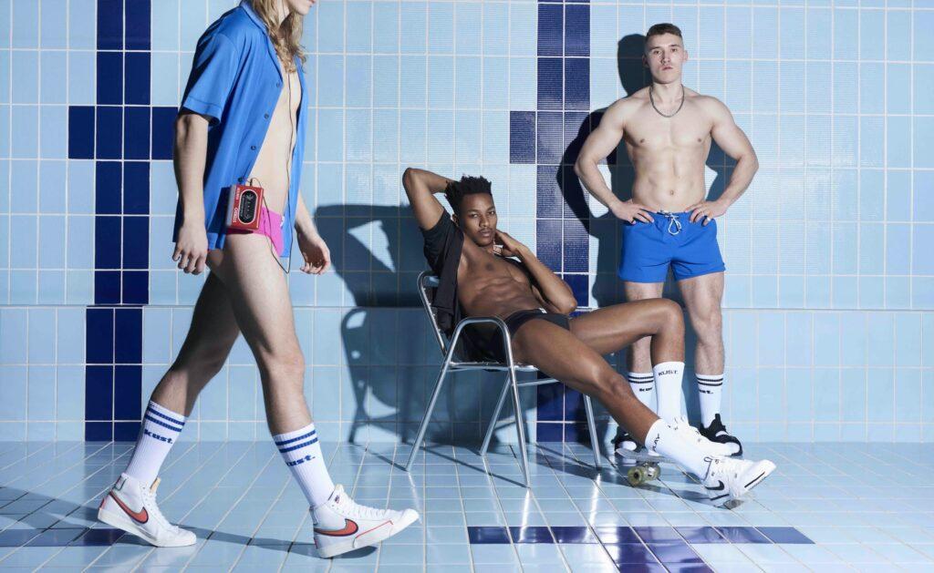 La campagna Kust Swim per l'estate 2021: costumi da bagno premium da uomo comodi e sostenibili