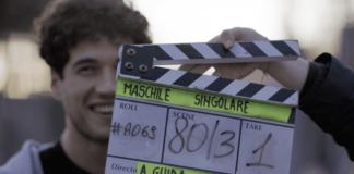 Il primo ciak sul set del Film Maschile Singolare, di Matteo Pilati e Alessandro Guida