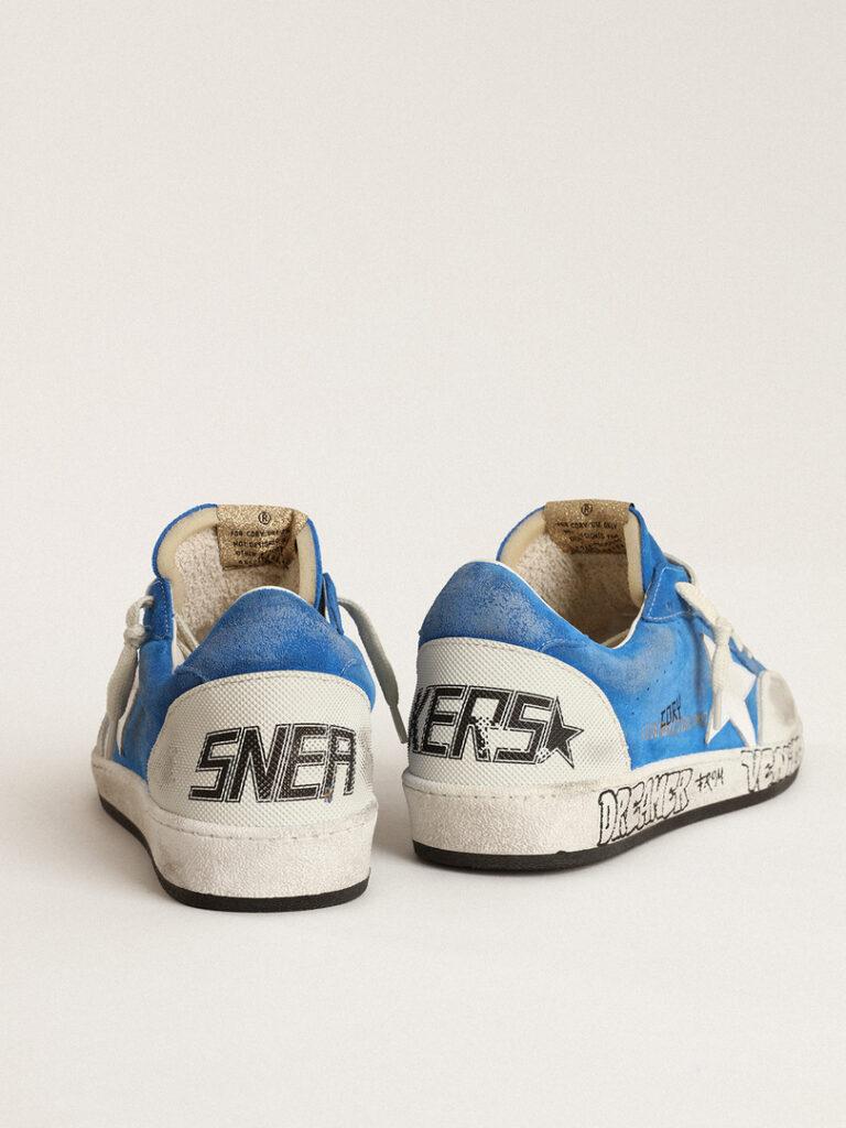 Le sneakers blu nate dalla collaborazione tra Golden Goose e Cory Juneau