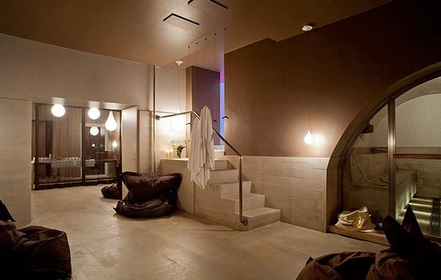 La spa del Resort Shalai, in provincia di Catania