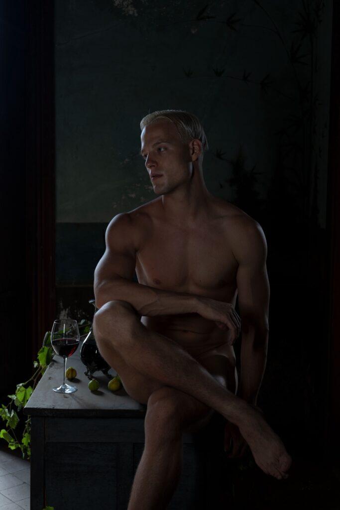 La fotografia di Oreste Monaco è un nudo ispirato ai quadri barocchi