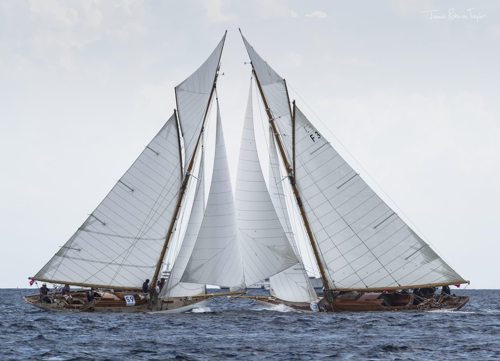 Luca Larenza è partner ufficiale dell'equipaggio della vela d'epoca Marga