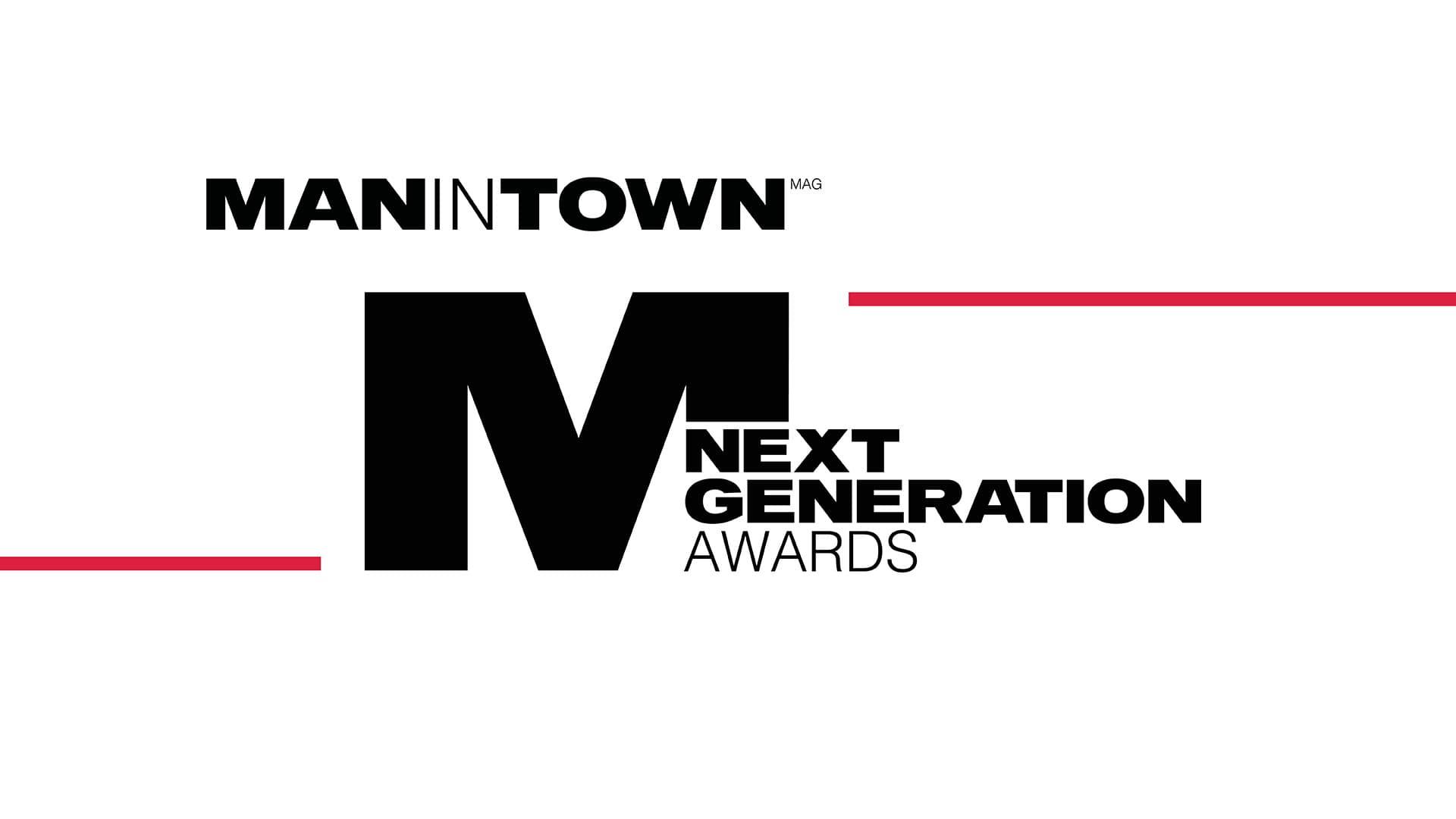 Il logo dei Next Gereation Awards: il premio di Man In Town dedicato ai nuovi talenti